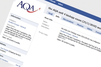 AQA Facebook Protest Group