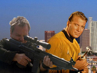 Jack Bauer and Captain James T. Kirk