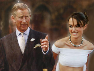 Prince Charles married to Keira Knightley