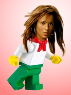 Cheryl Cole Legoified