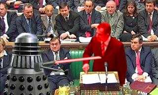 A Dalek vs Tony Blair