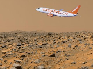 Easyjet flies to Mars