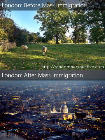 London: Before and After Mass Immigration