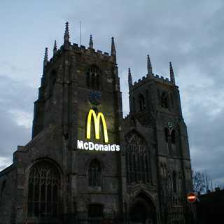 Church of England Church and McDonalds