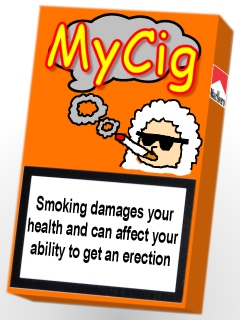Example of MyCig Packaging
