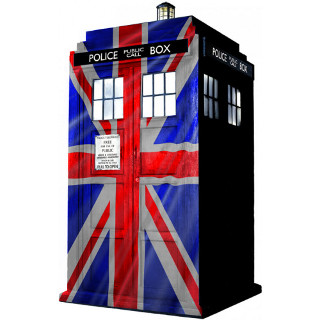Union Flag TARDIS